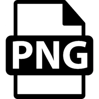 Formato de arquivo PNG símbolo
