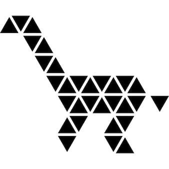 Girafa poligonal