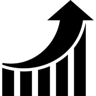 Gráfico marketing de desempenho seo