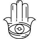 Hamsa Mão