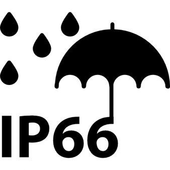 Ip66 símbolo padrão