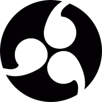 Japonês símbolo kamon family