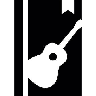 Livro de música com marcador
