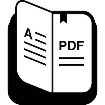 Livro pdf com marcador