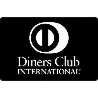 Logotipo Diners Club cartão de crédito