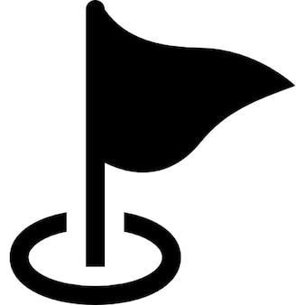 Mapa da bandeira marcador