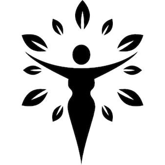 Mulheres símbolo saúde