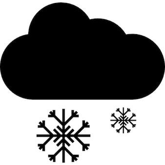 Nevando, ios 7 símbolo de interface