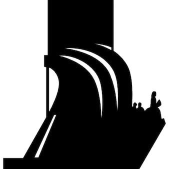 Padrao dos Descobrimentos monumento silhueta