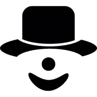 Palhaço, símbolo ios interface de 7