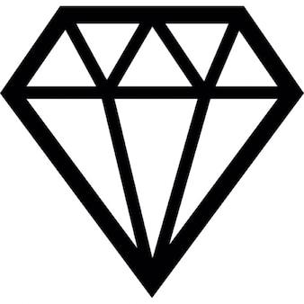 Preciosas jóias com diamantes
