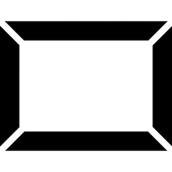 Quadro arte rectangular