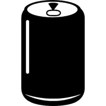 Refrigerantes lata de bebida recipiente