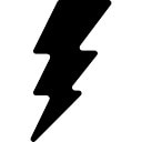 Relâmpago de energia elétrica