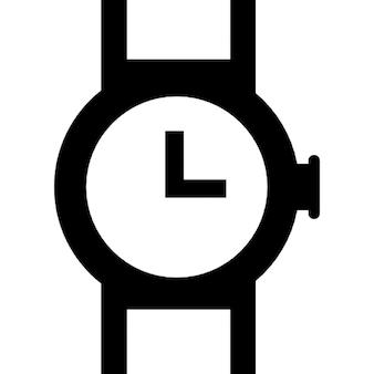 Relógio de pulso de design circular