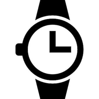 Relógio de pulso relógio de forma circular