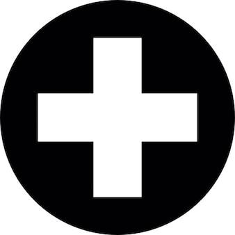 Símbolo da cruz primeiros socorros