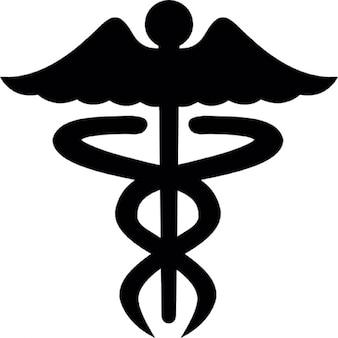 Símbolo médico do Caduceus