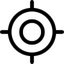 Sniper alvo circular