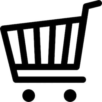 Supermercado carrinho de compras