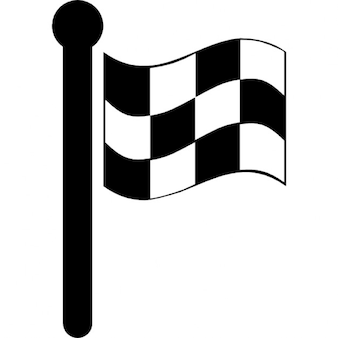 Variante bandeira quadriculada de corrida