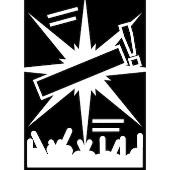 Variante cartaz do concerto