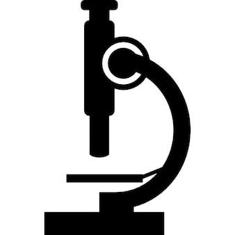 Vista lateral microscópio