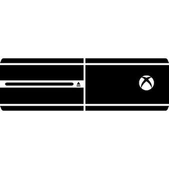 Xbox console de jogos de um