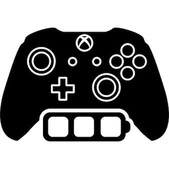Xbox uma bateria completa de controle de jogos