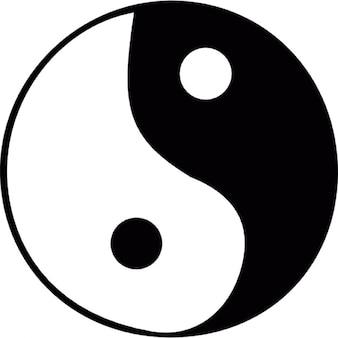Zen yin yang símbolo