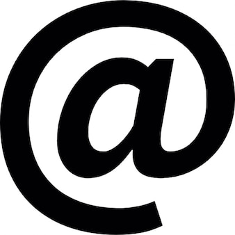 Arroba, symbole ios 7 de l'interface