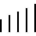 Barres ascendantes graphique