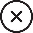 Annuler bouton circulaire t l charger icons gratuitement for Bouton interieur levre bouche