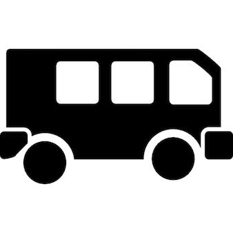 bus vue de c t t l charger icons gratuitement. Black Bedroom Furniture Sets. Home Design Ideas