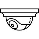 Caméra de surveillance en poste