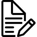 Crayon et papier