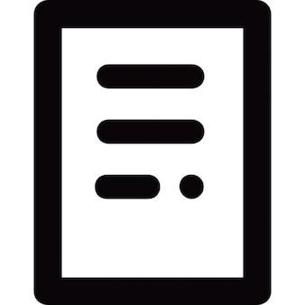 Document de texte