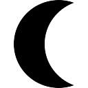 Vecteurs de forme lune...