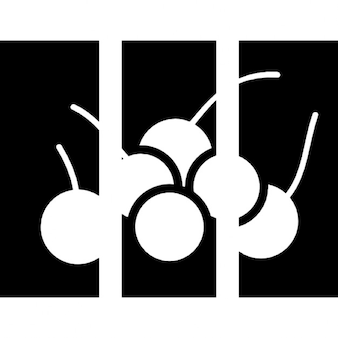 Fruits art triptyque