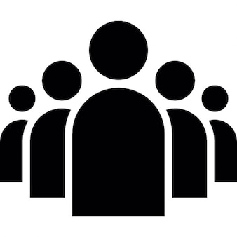 Groupe de personnes dans une formation