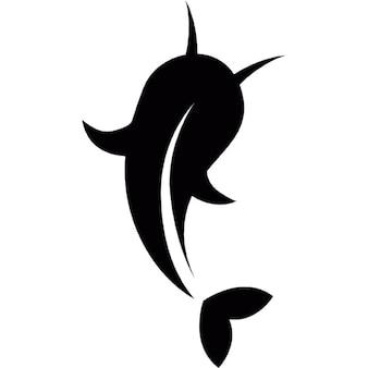 Japon koi poissons de vue arrière
