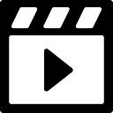 Jouer bouton lecteur de vidéo
