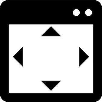 Fen tres d 39 application t l charger icons gratuitement for Taille de la fenetre