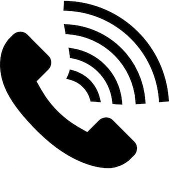 Le volume d'appels, ios 7 symbole d'interface