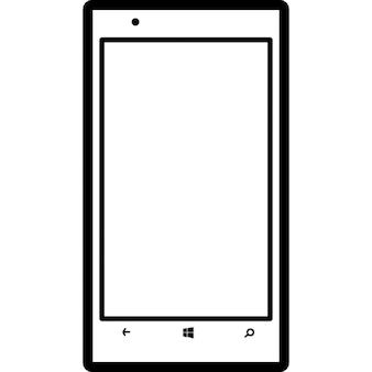 Mobiles aperçu de téléphone de modèle Nokia Lumia 720 populaire