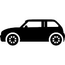 Modèle de la ville de voitures