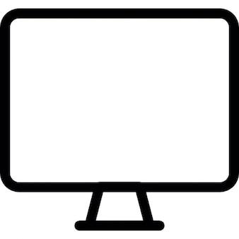 moniteur rectangulaire t l charger icons gratuitement. Black Bedroom Furniture Sets. Home Design Ideas