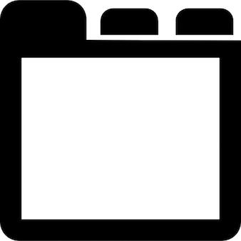 Tabs t l charger icons gratuitement for Panneau de fenetre