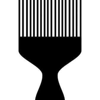 Outil de peigne pour cheveux frisés