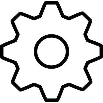 Outils, ios de symboles 7 de l'interface